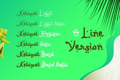 Ketupat Font Family Product Image 2