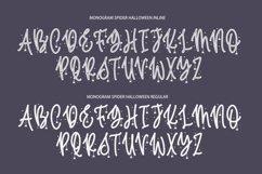Monogram Spider Halloween Font Product Image 2