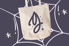 Monogram Spider Halloween Font Product Image 4