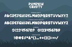 Pumpkin Crafty - Halloween Font Product Image 3