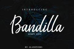 Bandilla script Product Image 1