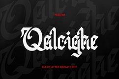 Web Font Qalcighe Font Product Image 1