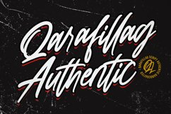 Qarafillag Script Authentic Handcrafted Font Product Image 6