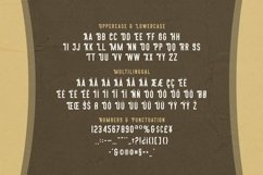 Web Font Qluwend - Vintage Display Font Product Image 4