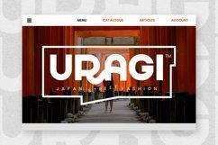 Web Font QUADRAT Product Image 4