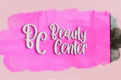 Web Font Queen Hearts - Lovely Handrawn Font Product Image 3