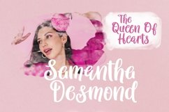 Web Font Queen Hearts - Lovely Handrawn Font Product Image 4