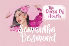 Queen Hearts - Lovely Handrawn Font Product Image 6