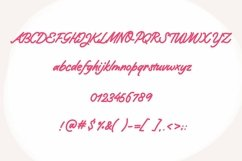 Web Font Quick Notes - a handwritten signature font Product Image 2