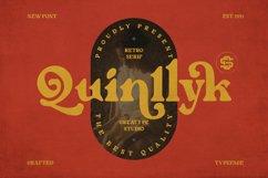 Quinlliyk Retro Serif Product Image 1