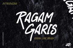 RAGAM GARIS - Brush Font Product Image 1