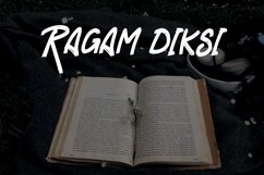 RAGAM GARIS - Brush Font Product Image 6
