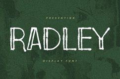 Web Font Radley - Display Font Product Image 1