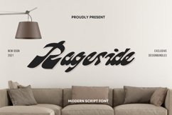 Rageside Font Product Image 1