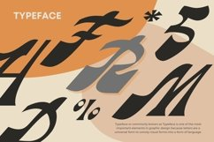 Web Font Rageside Font Product Image 4
