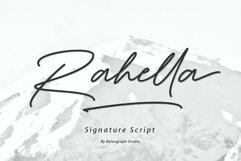 Rahella Handwritten Script Font Product Image 1
