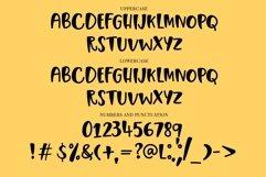 Web Font Rain Away - a quirky handwritten font Product Image 4