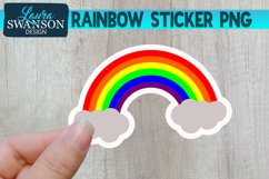 Rainbow Sticker Product Image 1