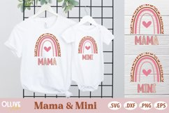Mommy & Me Bundle SVG | Mama and Mini SVG Product Image 2