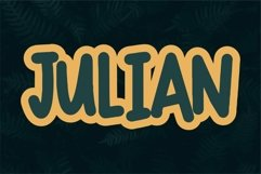Web Font Rakial - Cute & Bold Product Image 2
