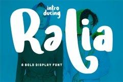 Ralia - A Bold Display Font Product Image 1