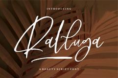 Ralluga - Beauty Script Font Product Image 1