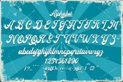 Rasioline unique retro font Product Image 3