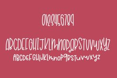 Raspberry Macchiato a Hand Lettered Font Product Image 2