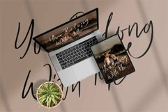 Web Font Rastanly - Handwritten Signature Font Product Image 4