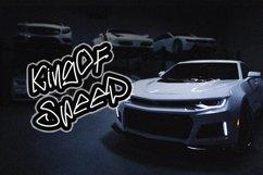RASTENKER - Graffiti Font Product Image 6