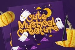 Web Font Raydone - Halloween Font Product Image 3