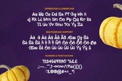 Web Font Raydone - Halloween Font Product Image 5