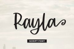 Rayla - Script Font Product Image 1