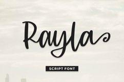 Web Font Rayla - Script Font Product Image 1