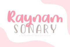 Raynam Sonary Font Duo Product Image 1