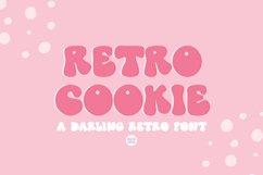 RETRO COOKIE Playful Vintage Font Product Image 1