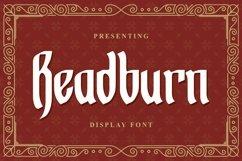 Web Font Readburn - Blackletter Font Product Image 1