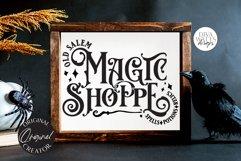 Old Salem Magic Shoppe SVG | Halloween Design Product Image 6