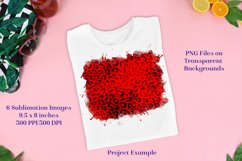 Sublimation PNG Designs - Vampire Red Leopard Product Image 2
