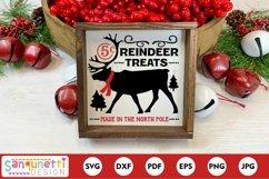 North Pole reindeer treats Christmas svg Product Image 1