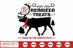 North Pole reindeer treats Christmas svg Product Image 2