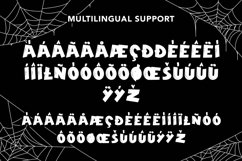 Web Font Reliquary - Halloween Display Font Product Image 5