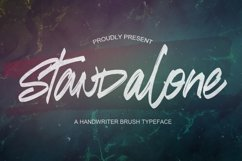 Standalone - Handwritten Font Product Image 1
