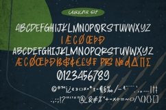 Relocation - Bold handmade Rough Brush Font Product Image 3