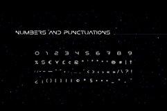 Researcher Futuristic Font Product Image 2