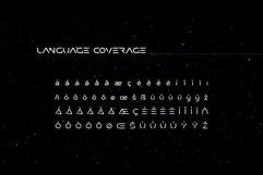 Researcher Futuristic Font Product Image 4