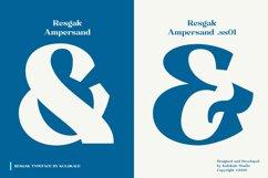 Resgak - Serif Family Font Product Image 3
