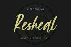 Web Font Resheal Product Image 1