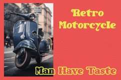 Restro - Retro Inspired Display Font Product Image 4