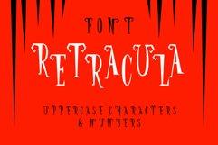Retracula Font - Sharp like Dracula teeth Product Image 1